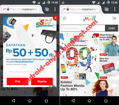 Download Aplikasi Matahari Mall APK Android Gratis