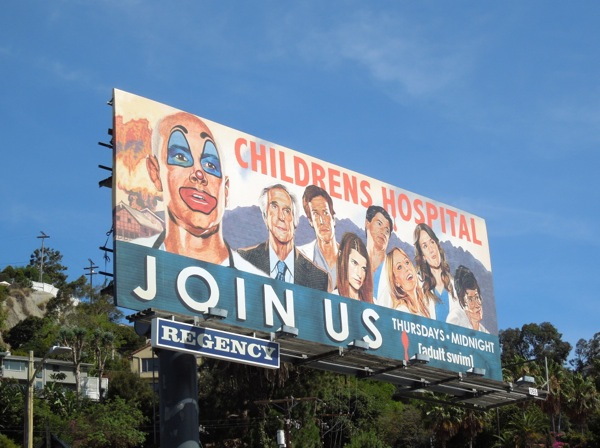 Childrens Hospital 5 join us billboard