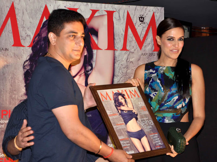 neha dhupia at maxim artic vodka party glamour  images