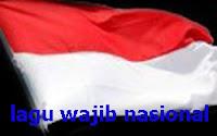 Kumpulan lirik dan pencipta lagu wajib nasional