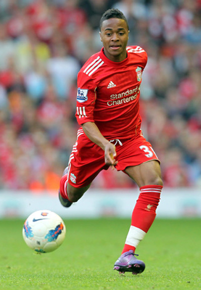Raheem Sterling Liverpool 2012