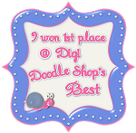 Jeg vant hos Digi Doodle shop's