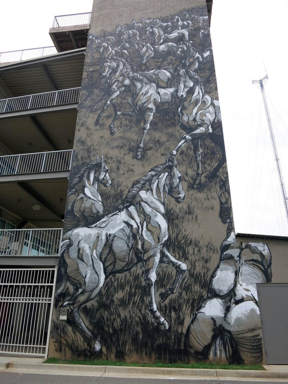 Jaz new mural in atlanta usa part ii streetartnews for Atlanta mural artist