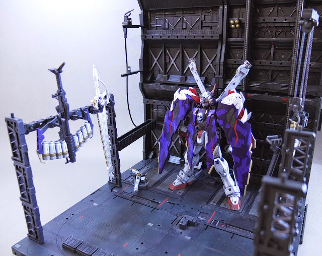 diorama gundam model kit century