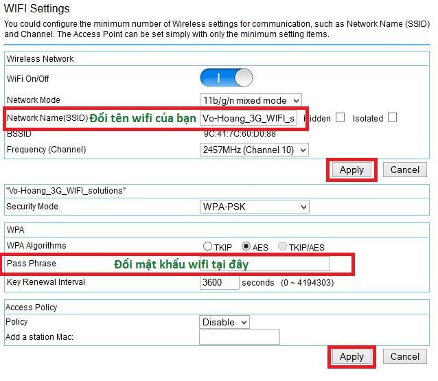 Hướng dẫn cài HAME 3G router tại Vi tính Võ Hoàng