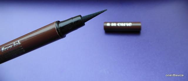 eye brow ink long lasting fine nib for precise application