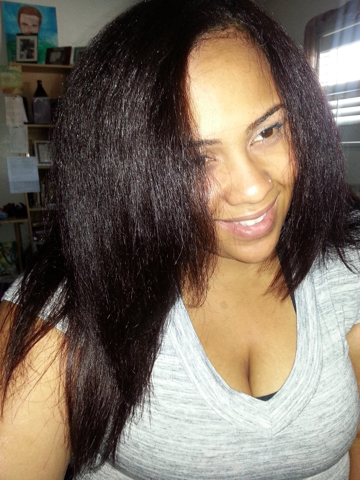 How To Straighten Natural And Transitioning Hair Without