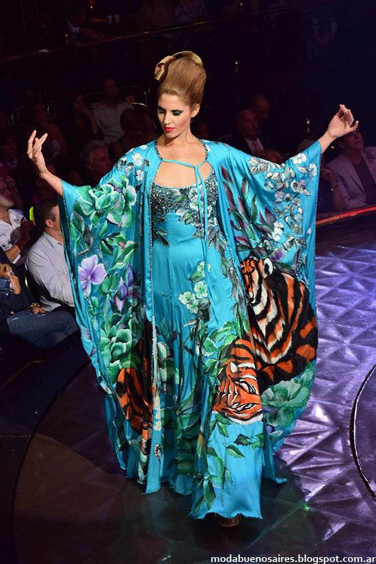 Roberto Piazza vestidos de fiesta otoño invierno 2015. Moda otoño invierno 2015.