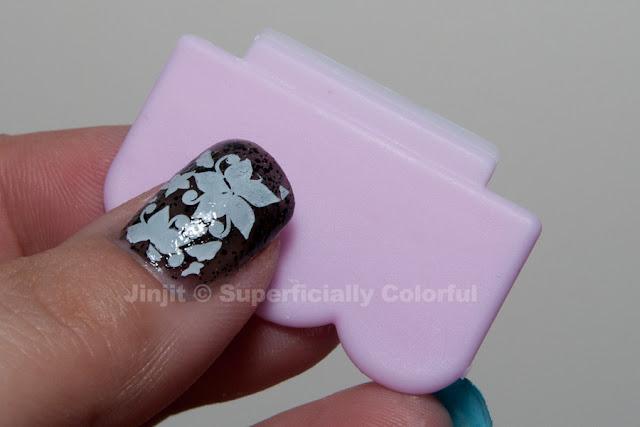 OMG Nails! MoYou scrapper