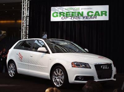 Самый экологичный автомобиль 2010 года Audi A3 TDI