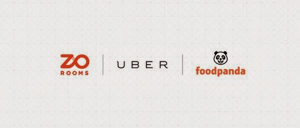 Zo rooms and foodpanda with uber