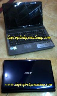 Laptop Bekas Acer 4736z Dual core 2 jutaan