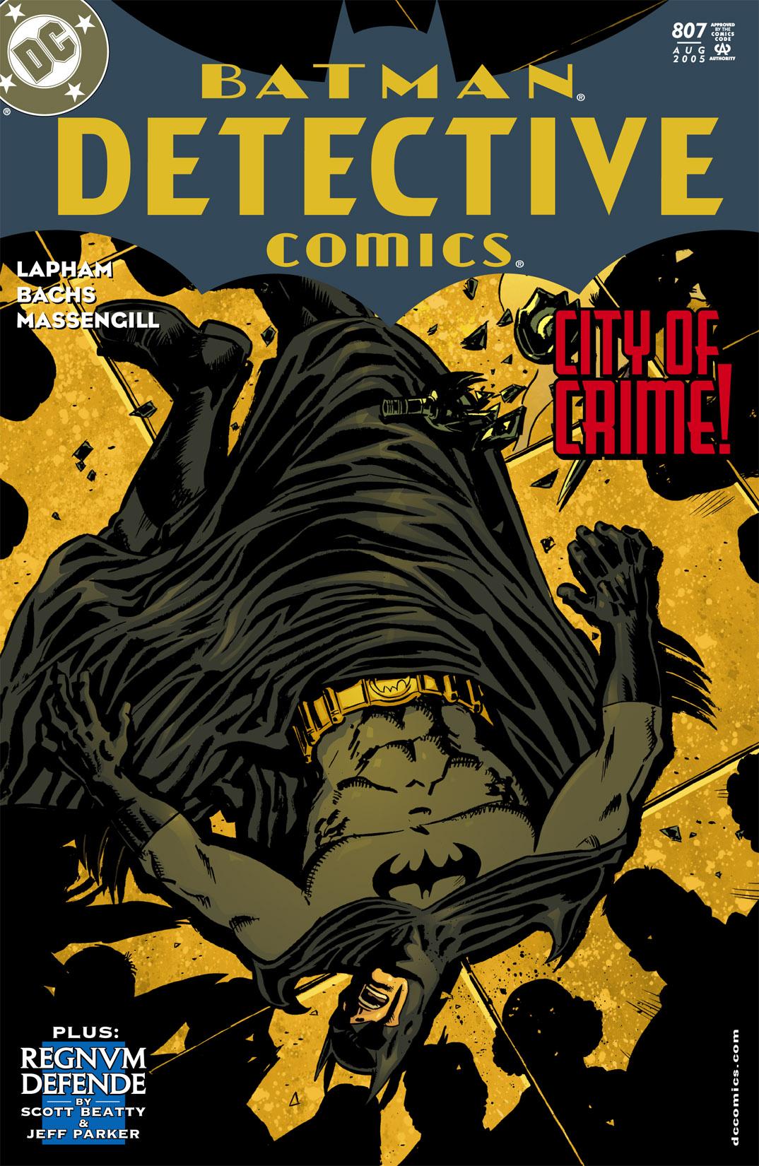Detective Comics (1937) 807 Page 1