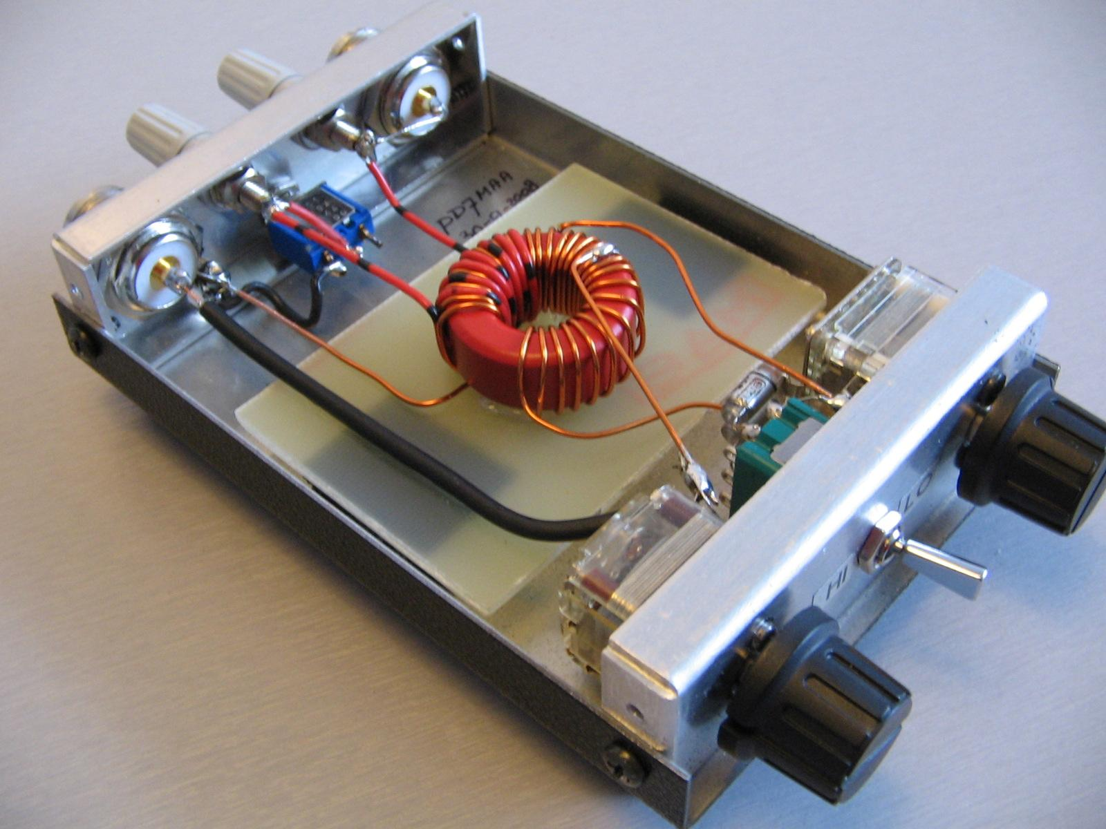 Homebrew Z-Match Antenna Tuner | Randy's Bench