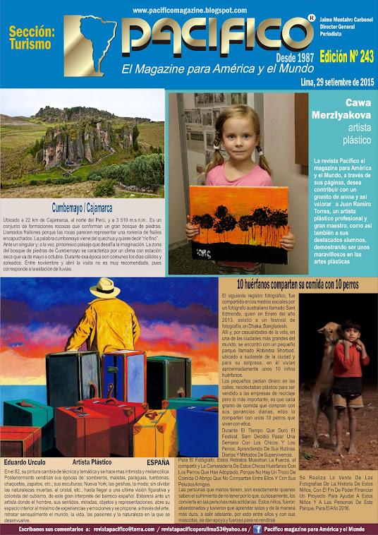 Revista Pacífico Nº 243 Turismo