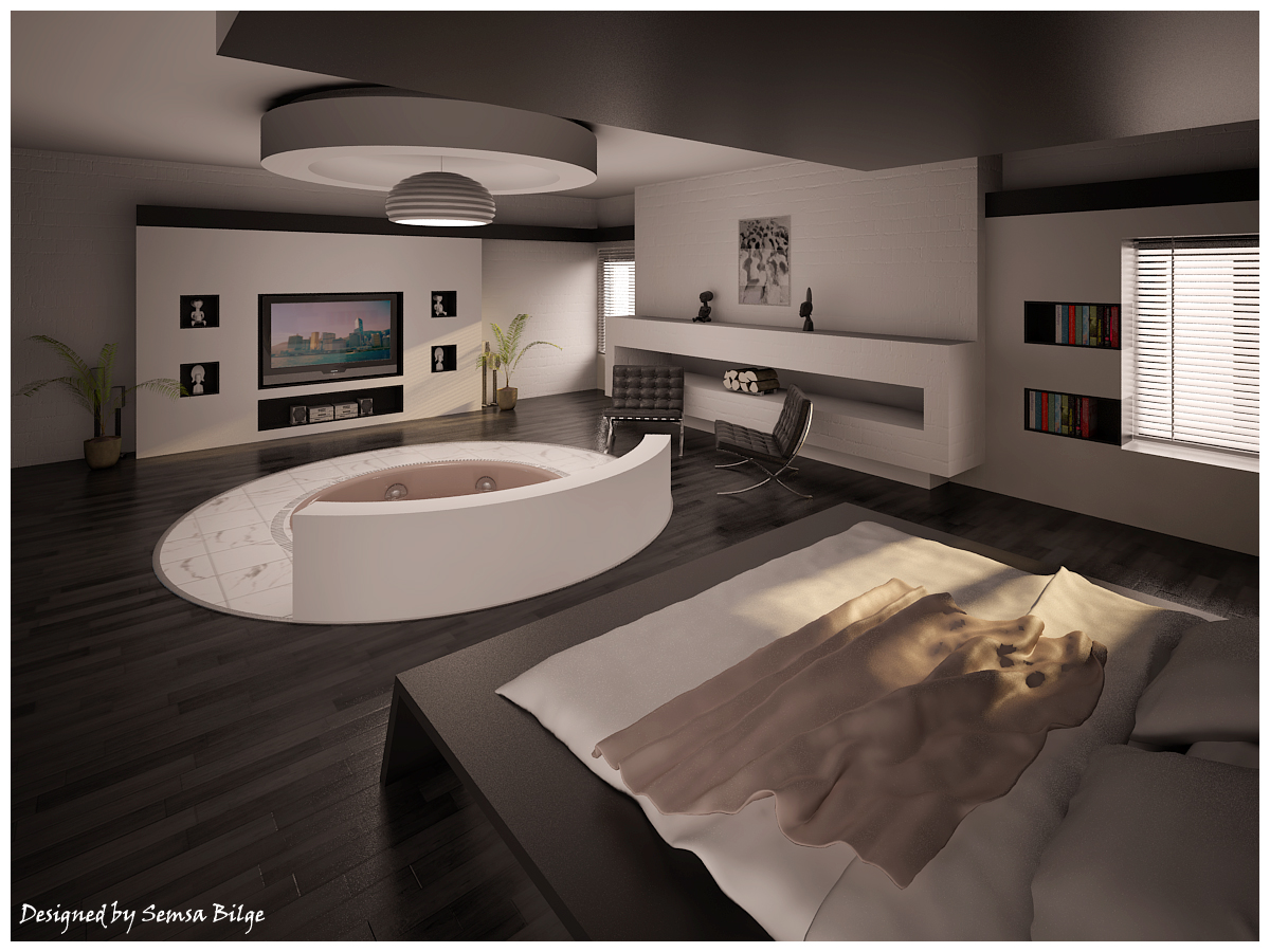 Decoration Salle De Bain Avec Jacuzzi : Beautiful Idea Bedroom Design