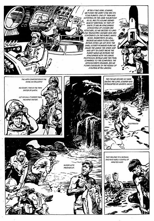 Atomic kommie comics reading room monkey planet part 1 but there had never been a graphic novel version of the original novel which is quite different from any of the live or animated adventures in english fandeluxe Images