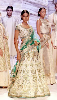Indian Modern Bride Trends for Summer 2015 | Indian Bridal Outfit from JJ Valaya's collection