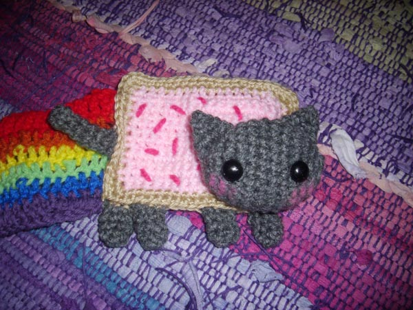 Nyan Cat Scarf Crochet Pattern Free : The Amigurumi Girl: Nyan What???