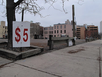 Five-Buck Parking: Good Deal.