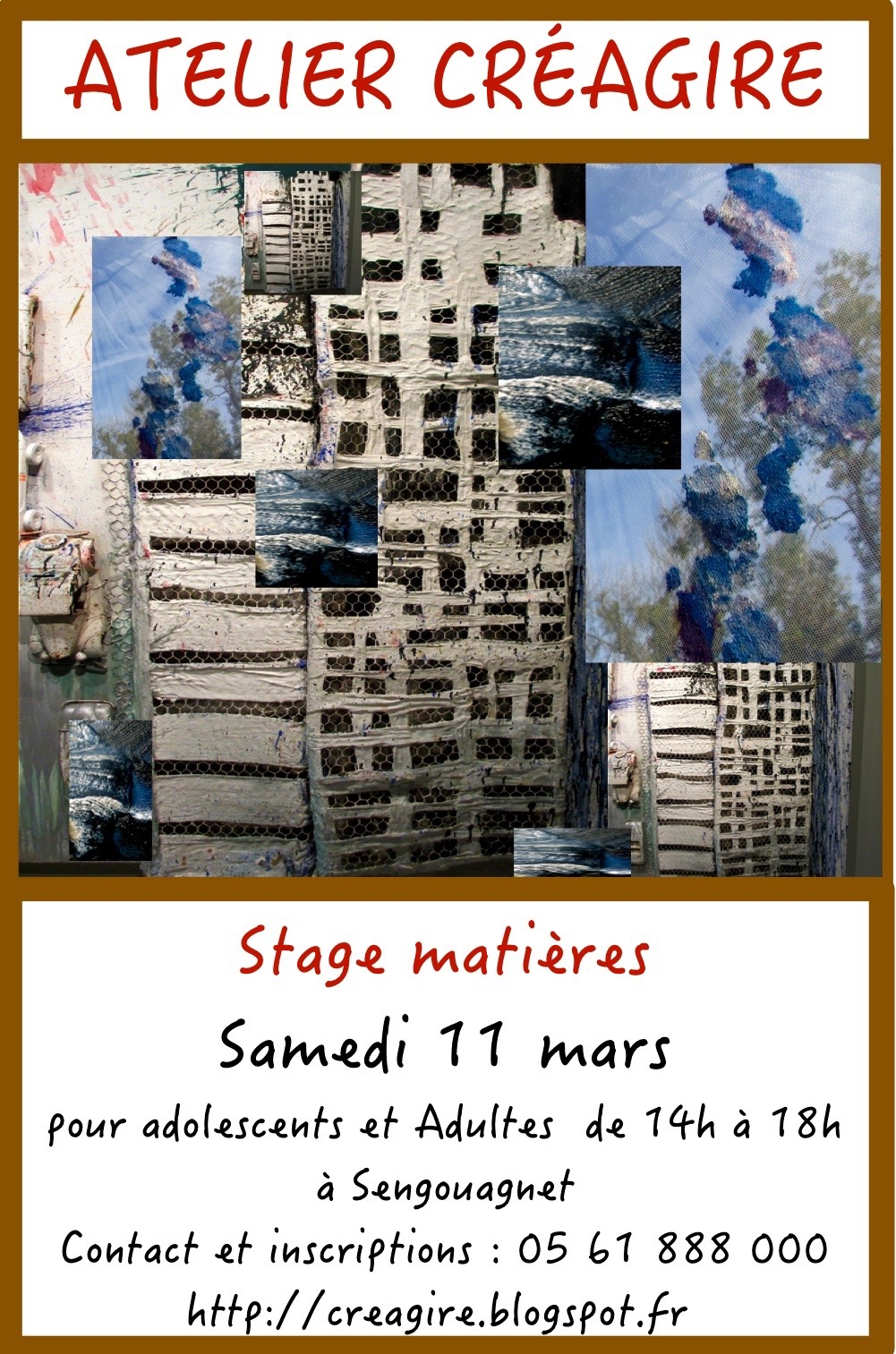 stage matières