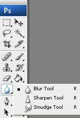 how to cancel smudge tool photoshop