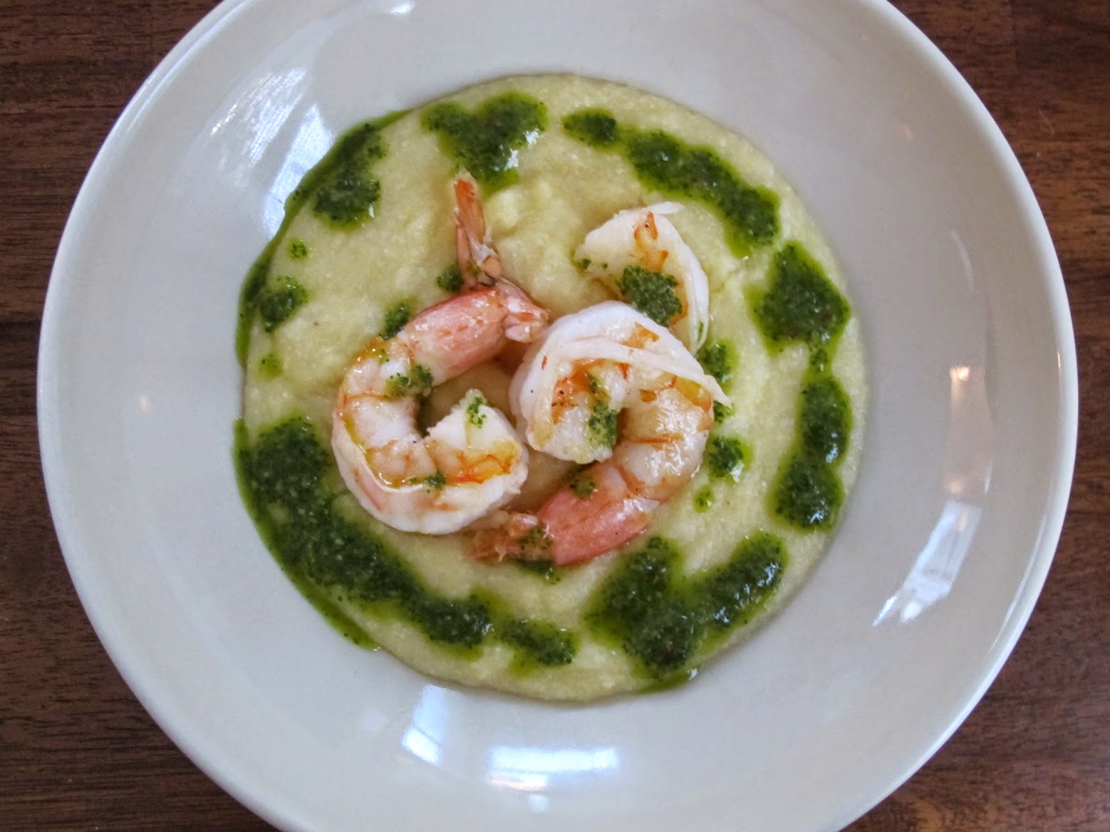 Shrimp with Three-Herb Chimichurri Sauce