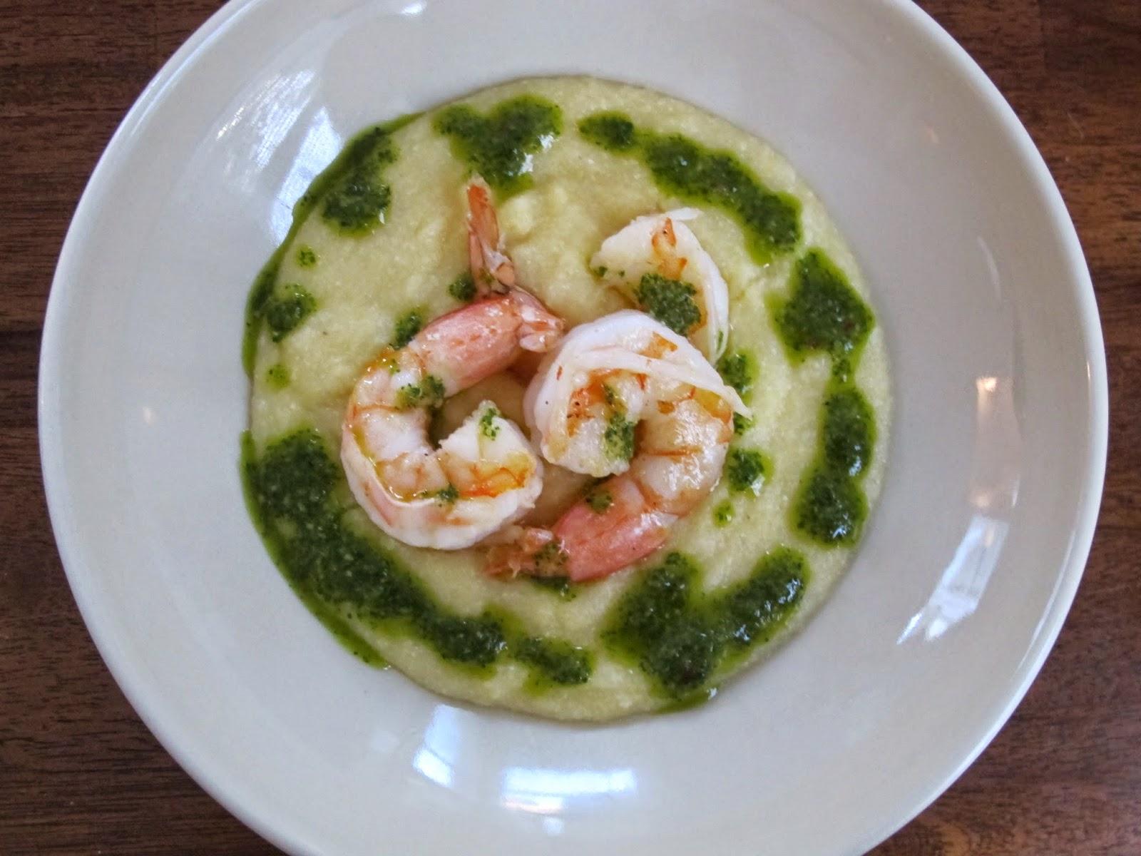Shrimp with Three-Herb Chimichurri Sauce