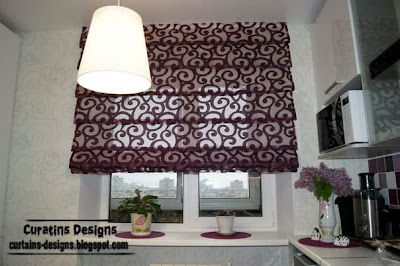 10 Exclusive roman shades designs for kitchen, roman blinds ...