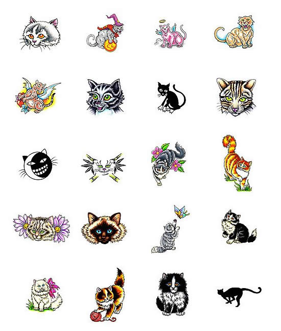 tattoos on cats. Tattoo cats. LINK *Only fully-registered users can see this link.