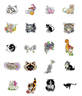 Cats can inspire tattoo designs. In Thailand, the 'Siamese' cat was the