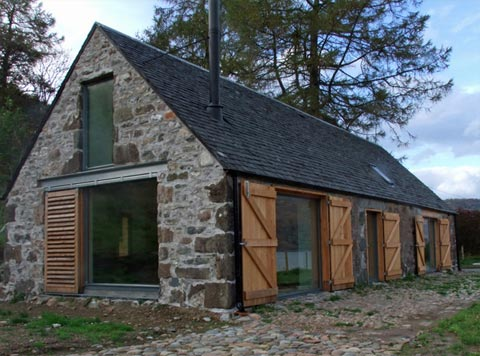 Fine Little Blog Barn House In The Highlands