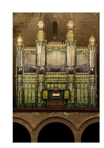 Orgue de la cathédrale St Etienne d'Agde