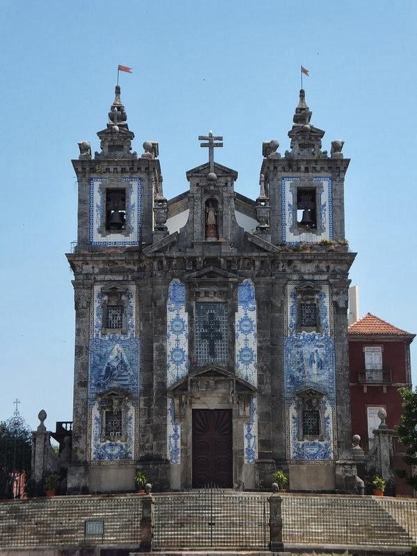 porto église azulejos
