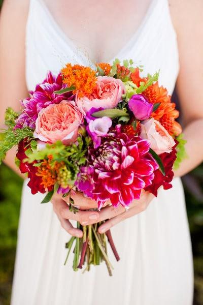 Doeblerghini Bunch:  My Flowers - Magenta Dahlia