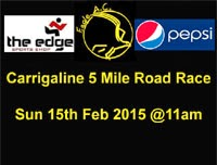 Carrigaline 5 mile race...Sun 15th Feb