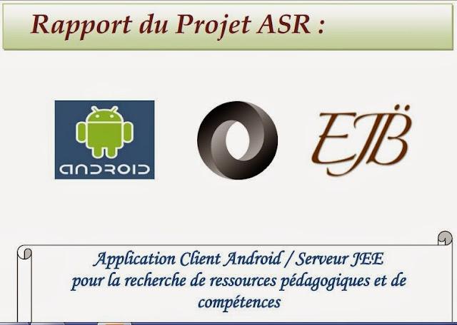 5brapport  5dapplication client android serveur jee pour