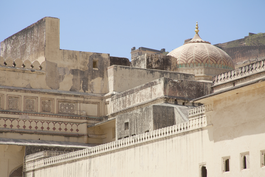 Jaipur-Amer-Fort-Architecture-Dome