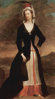 Portrait of Lady Mary Wortley Montagu by Charles Jervas