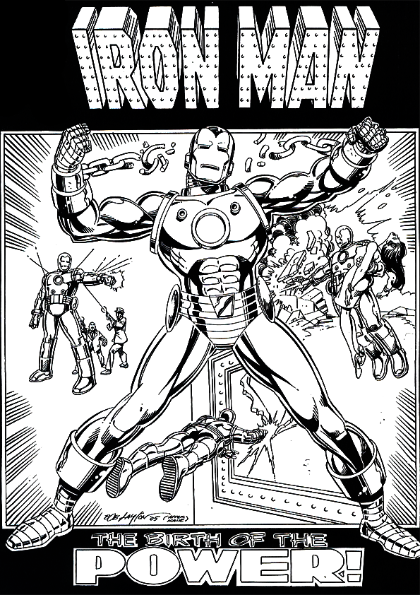 Iron Man Coloring Pages Free Printable Coloring Pages