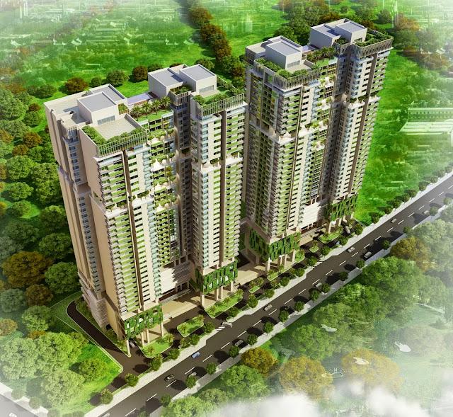 Phối cảnh dự án chung cư Five Star Kim Giang