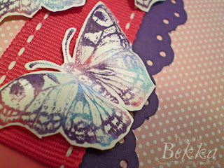 Multi Coloured Butterfly by Bekka www.feeling-crafty.co.uk