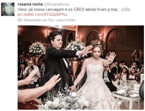 Confira as fotos do casamento de Lanna Holder e Rosania Rocha Rosania+rocha