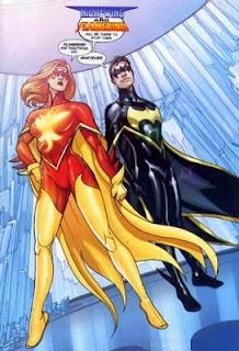 Powergirl,¿personaje subvalorado en DC Universe?: Noviembre15+%25282%2529+Flamebird+%2526+Nightwing+DC+comics