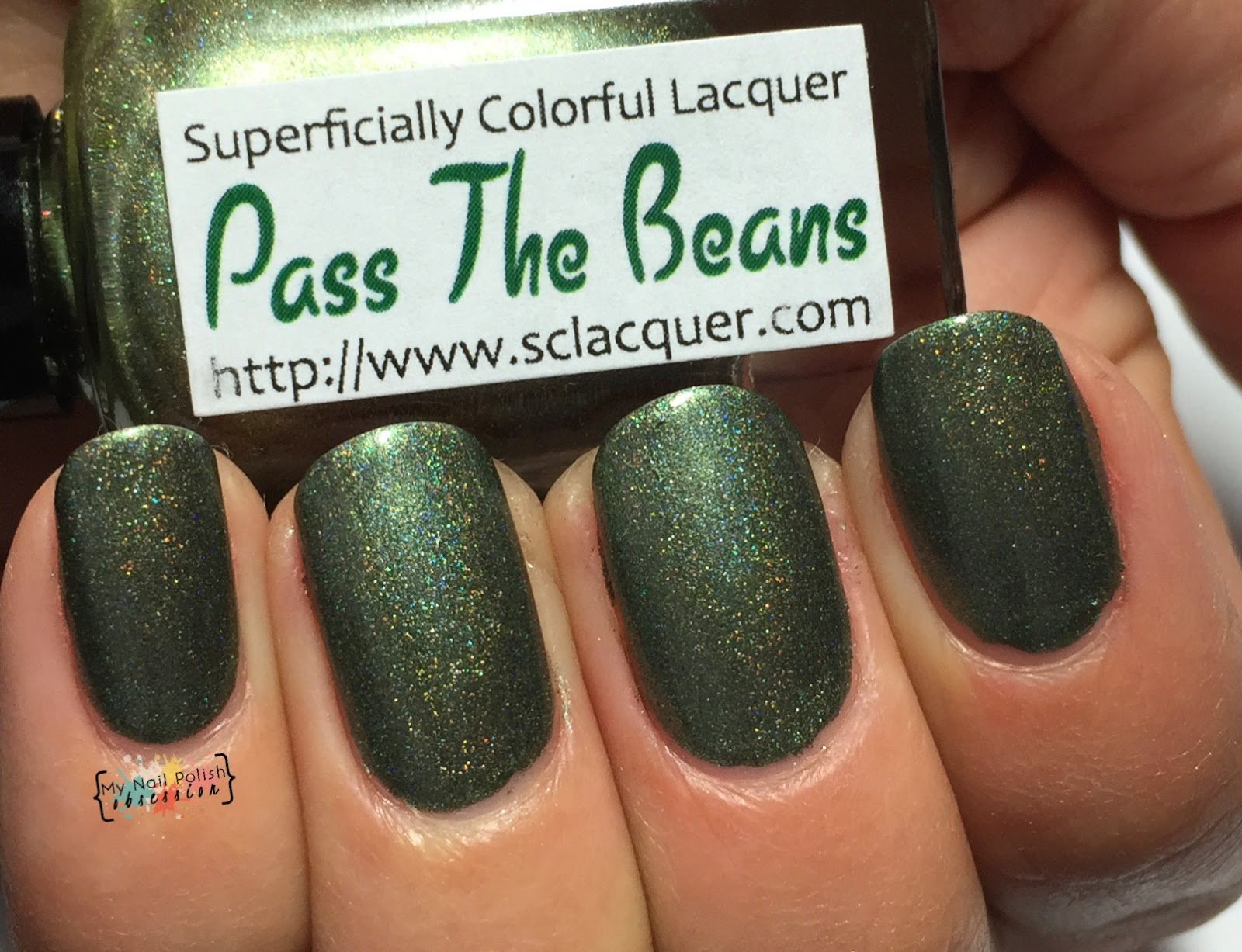 Superficially Colorful Lacquer Pass the Beans