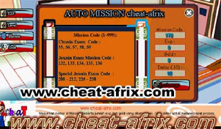 Atm Exp Cheat-Afrix Super Fast Ninja Saga