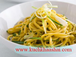 Egg Noodles with Lemongrass and Herbs