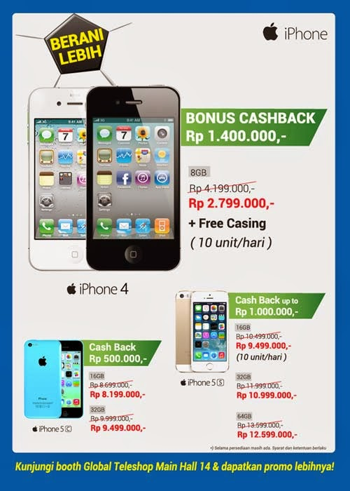 Global Teleshop Promo iPhone di MBC 2014