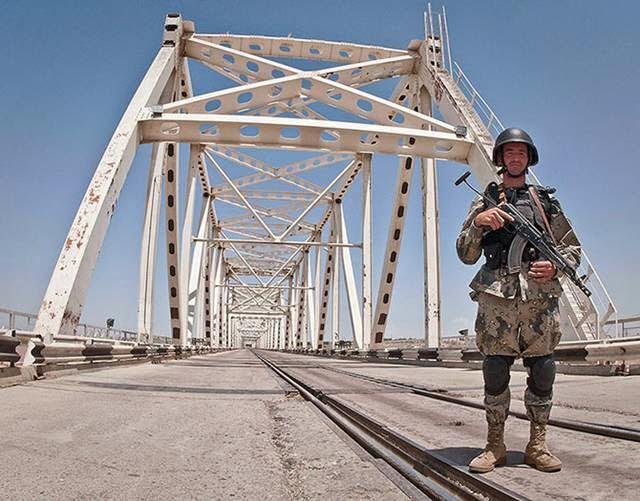 Uzbekistan border - Afghanistan
