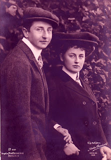 Prince August Wilhelm de Prusse 1887-1949 et princesse Alexandra Viktoria zu Schleswig-Holstein-Sonderburg-Glücksburg 1887-1957